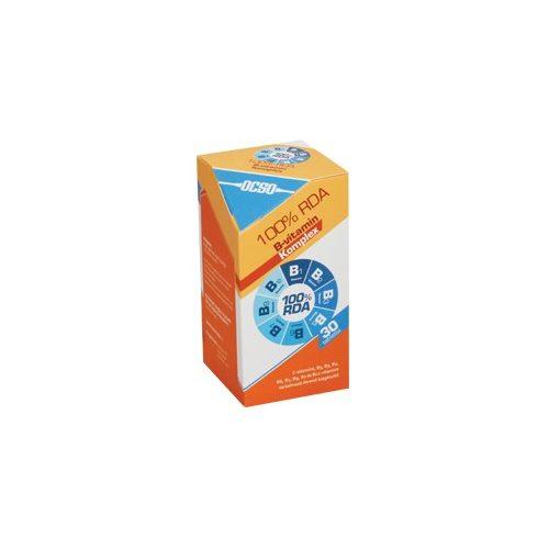 OCSO 100% RDA B-vitamin komplex - 30 db