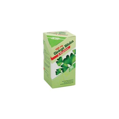 OCSO 150 mg Ginkgo Biloba + Magnézium - 30 db