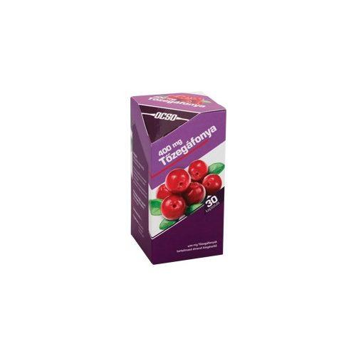 OCSO 400 mg Tőzegáfonya - 30 db