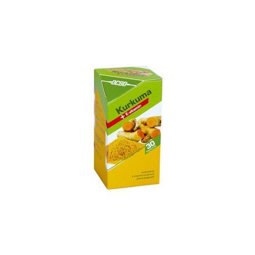 OCSO Kurkuma + E-vitamin - 30 db