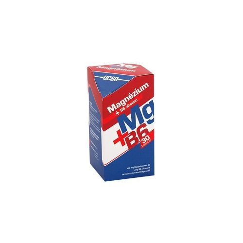 OCSO Magnézium + B6-vitamin - 30 db