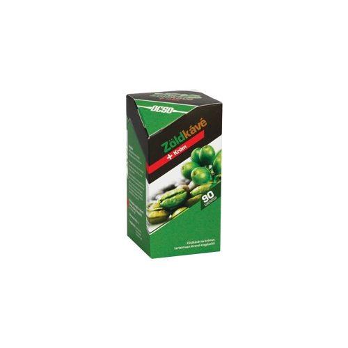OCSO Zöldkávé + Króm - 90 db